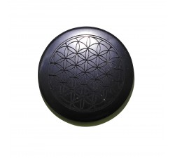 Shungite tile for fridge flower of life