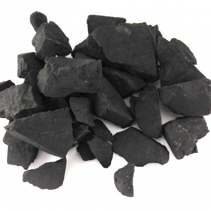 Shungite stones for purifying water 500g