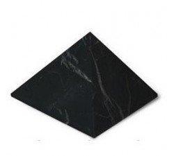 large shungite pyramid unpolished