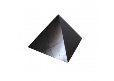 large shungite pyramid polished