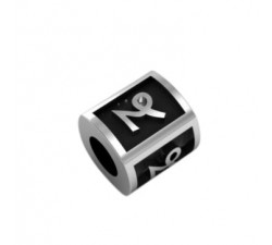 CAPRICORN bead sterling silver spacer beads