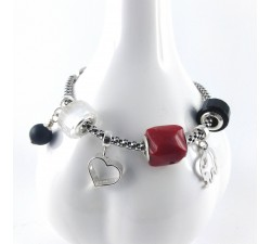 Cure Beads bracelet - beads and gems