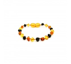 pain reliever for teething baroque amber bracelet baby multicolor