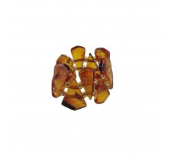 pain reliever amber elastic ring