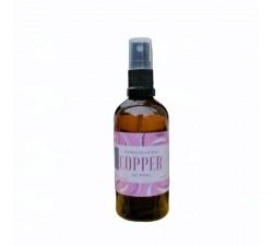 Copper nanocolloid in spray 100ml glass brown bottle