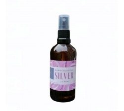 Nano colloidal silver in spray 100ml in glass brown bottle