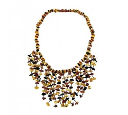 Amber necklace for ladies natural pain reliever and antidepressant