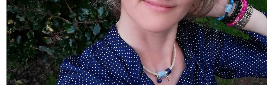 Cure beads bracelets - beads and gems