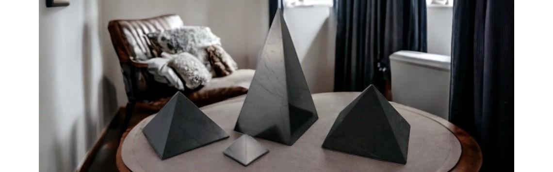 Black pyramids